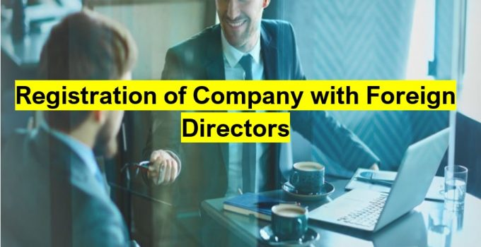 Registration of Company with Foreign Directors in Pakistan