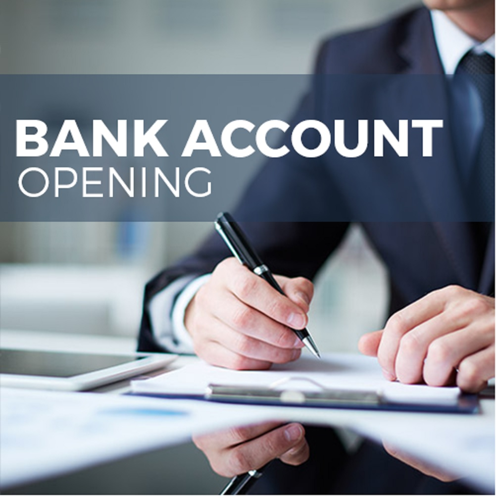 Opening of Bank Account in the name of Company